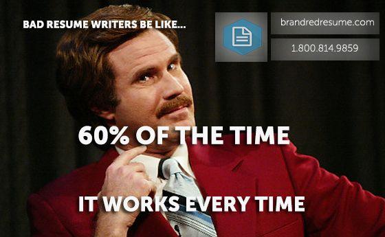 It resume writers