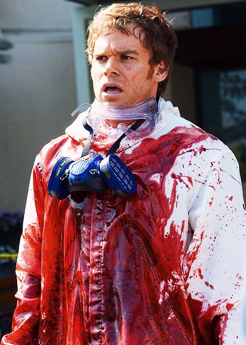 Oh yes...the forever sexy Dexter Morgan. Michael C. Hall, you owe fan girls everywhere a new pair of panties you sexy mofo