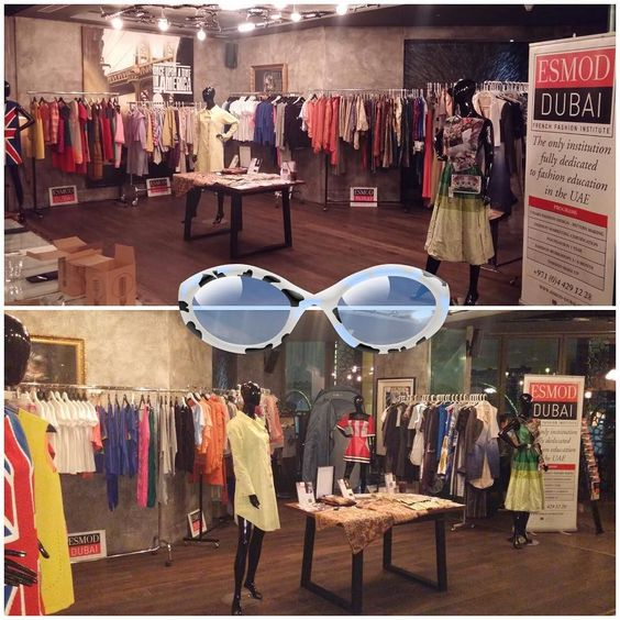 The show is on !! Come have a look #tribecadubai #esmoddubai #designersales #popupstore #nightshopping