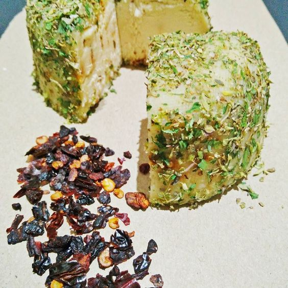 The Piquant  Smoked Chipotle with herbs #vegansofig #vegansofinstagram #vegansofinstagram #vegancheeseuk