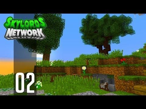 Minecraft Skyblock Ep 2 Epic Terraforming Skylords Network