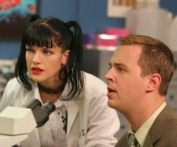 NCIS goth chick Been told more than once u look like her, I think it's cool!