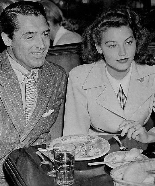 L for legends: Ava Gardner & Cary Grant