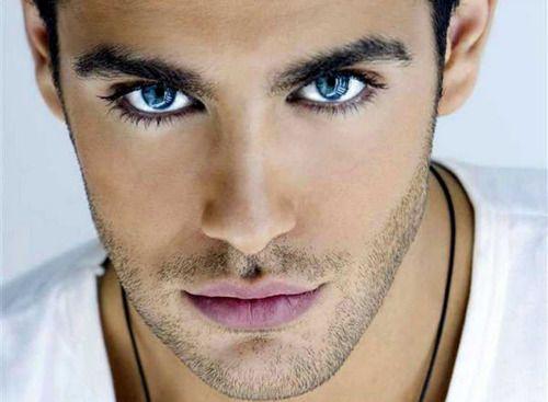 dark-haired blue-eyed men...                                                                                                                                                      More
