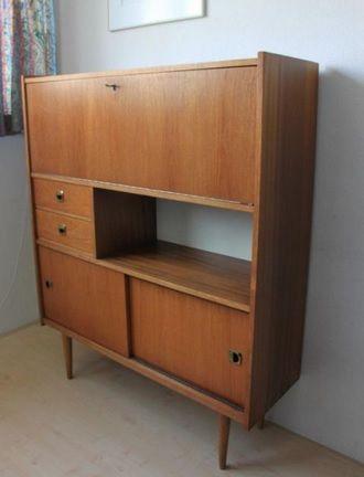Mooie retro vintage kast buffetkast dressoir uit de for Deense meubels vintage