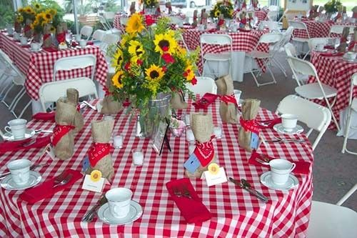20 Best Checkered Gingham Tablecloths Images On Pinterest | Gingham,  Tablecloths And Table Skirts