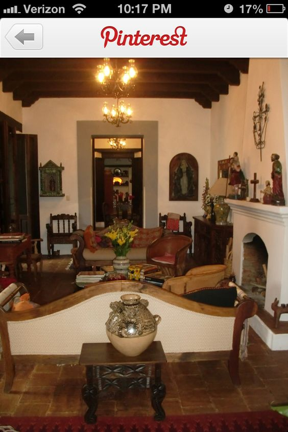 spanish colonial decor colonial style homes spanish haciendas hacienda ...
