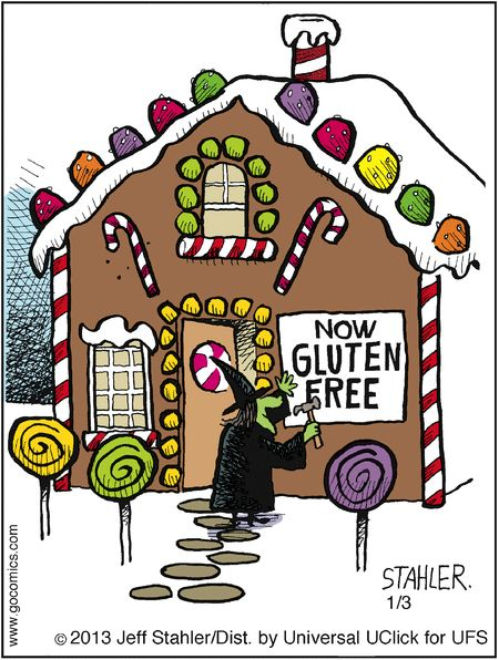 Heheh. I'm thinking Hansel and Gretal had never tried gingerbread that sat out for a while. I'd walk right by that house without looking back...gluten free or not!