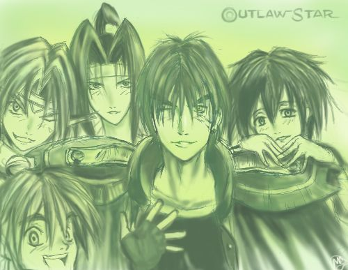 Outlaw Star by viperxmns @deviantart