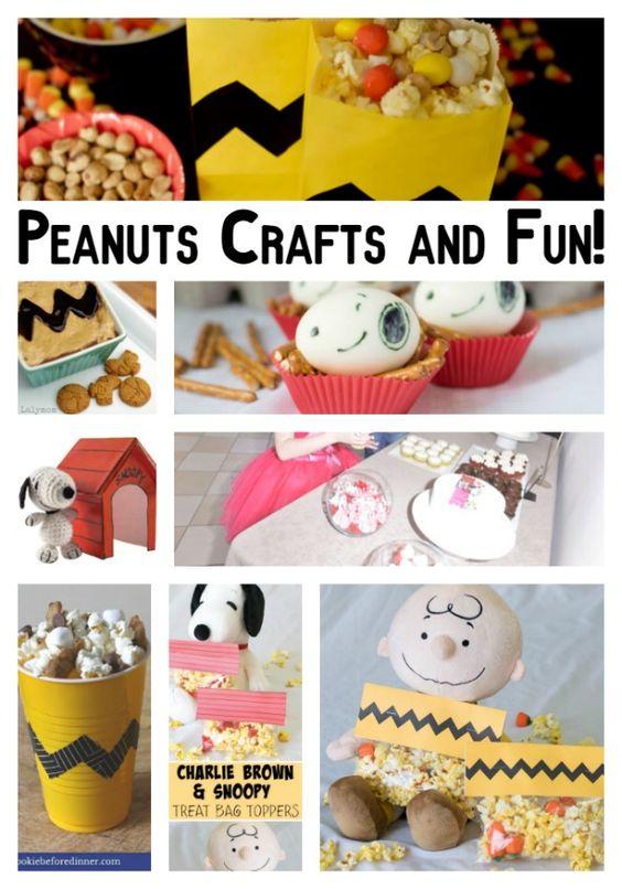Peanuts Crafts and Fun | The Peanuts Movie #PeanutsInsiders ad