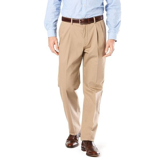 Dockers® Relaxed Fit Signature Khaki Pants - Pleated D4, Size: