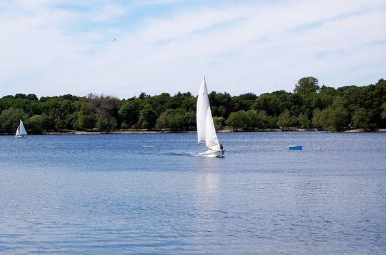 Jamaica Pond, Jamaica Plain, MA