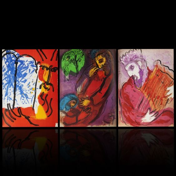 VERVE. Illustrations for the Bible by Marc Chagall -   #jewish #arts #artist #artworks #Marc-chagall #marcchagall #bible