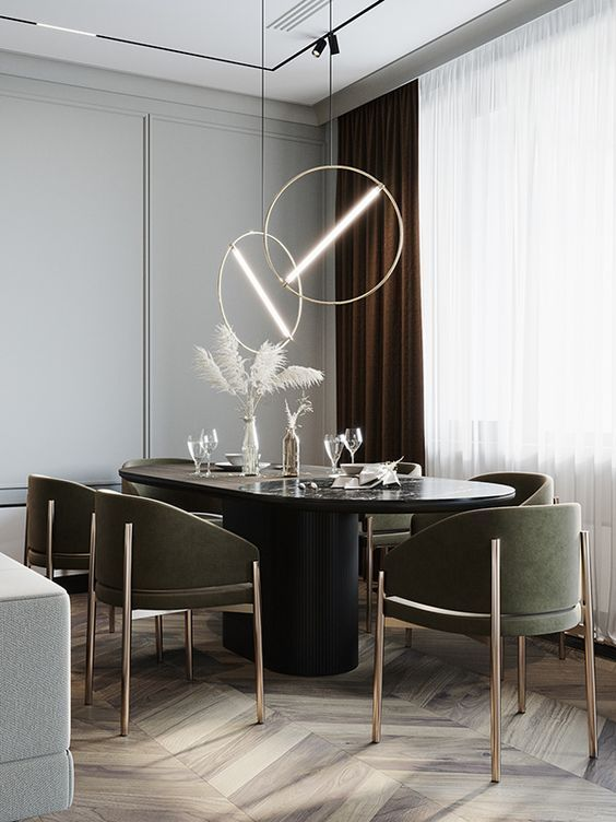 Embrace The Best Inspirations From Dining Rooms That Luxxu Has To Offer You Can Visit Luxxu Net For In 2021 Luxury Dining Room Modern Dining Room Dinning Room Design