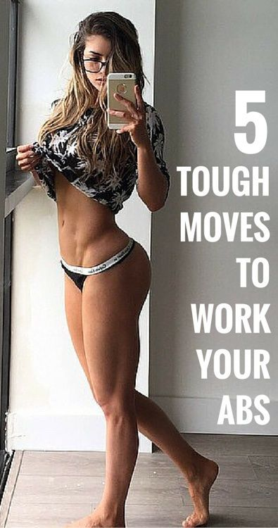 5 Tough Moves to Work Your Abs