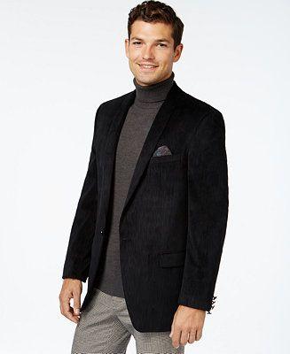 Tallia Men&39s Big &amp Tall Textured Velvet Solid Sport Coat | Big