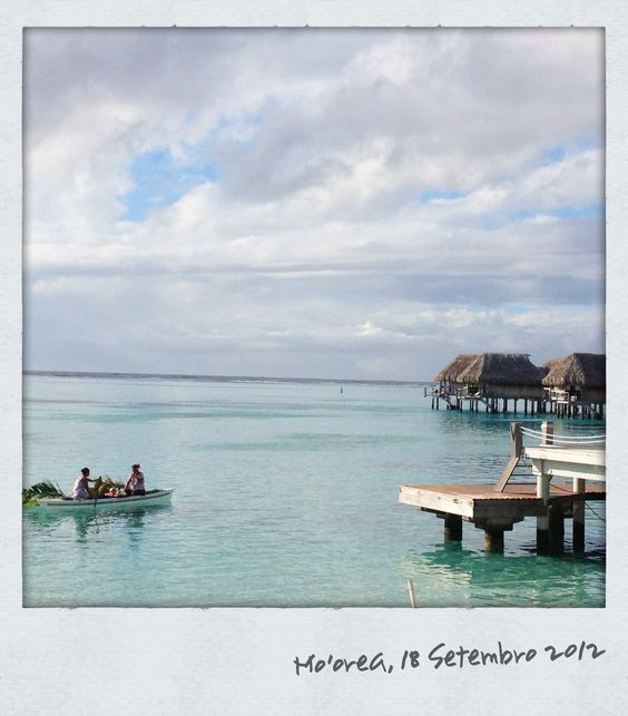 Moorea na Polinésia Francesa. #casamento #lua-de-mel #viagem #Polinésia
