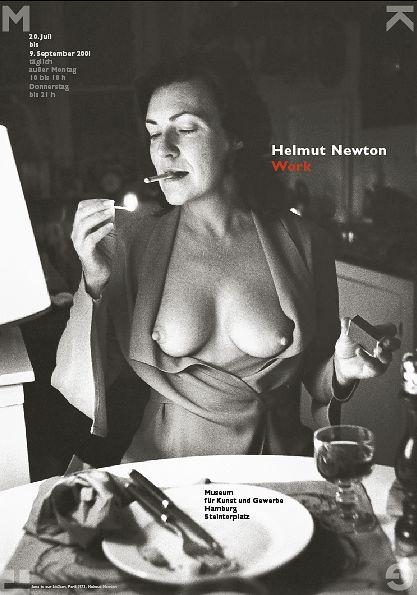 Plakat Helmut Newton - http://www.gesadenecke.de