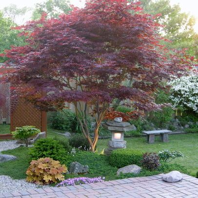 Japanese garden small front yard landscaping ideas design for Japanese garden small yard