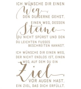 mundart stempel stempel ich w nsche dir einen weg petra pinterest produkte und zitate. Black Bedroom Furniture Sets. Home Design Ideas