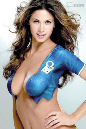 body paint world cup paintings paint beauty cups world dresses