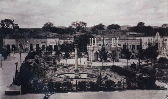 Plaza in Jalpa
