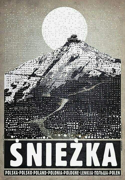 Poland Modern Poster Poster Retro Poster