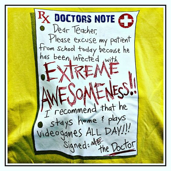 Doctoru0027s Note tshirt T-shirt Boneyard Pinterest Note - what is a doctors note