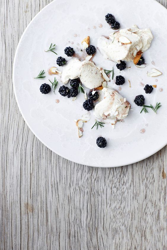 blackberry ice cream with amaretto recipe dishmaps cherry amaretto ice ...