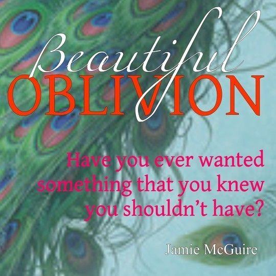Beautiful Oblivion by Jamie McGuire Jxxx PinkLady reviews