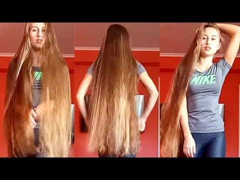 Realrapunzels Fit Body And Thick Long Hair Preview Youtube Long Hair Styles Loose Hairstyles Long Hair Models