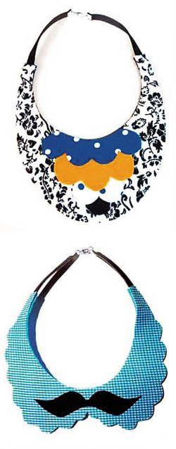 La responsable creativa de estos collares es Eli Reyes y logró convertir una pieza infantil en un objeto de moda interesante y sumamente divertido