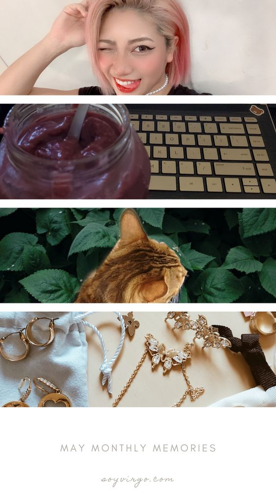 may monthly favorites soyvirgo.com - hana kimura riparadise, blog editing, my cat, jewelry