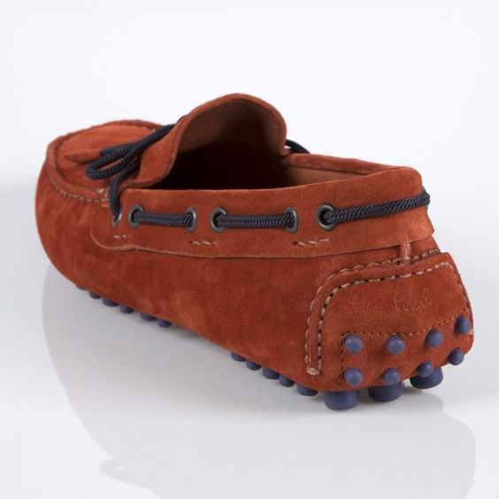 Paul Smith Shoes - Rust Suede Graham Loafers