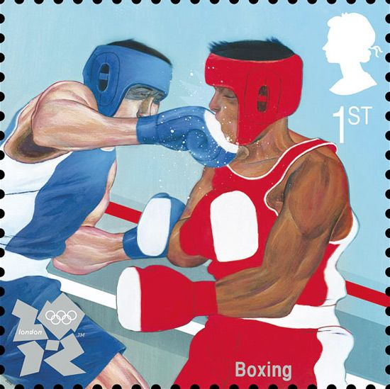 royal mail london olympics 2012 stamps
