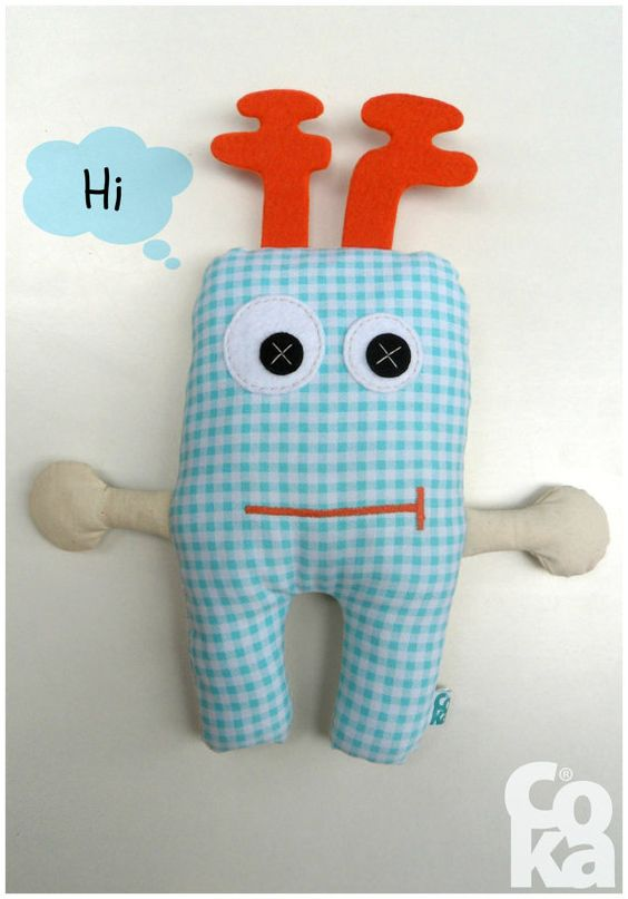 Tooth fairy Tooth fairy gift Tooth Stuffed Toy Soft by BeMyCoka