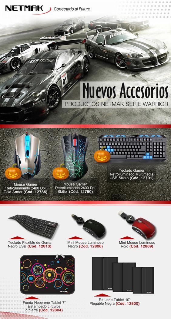 #Netmak #accesorios #mouse #teclados #fundas #cover #estuche  www.gvinformatica.com.ar #Olivos_VL #FloridaEsteVL #VecinosVL
