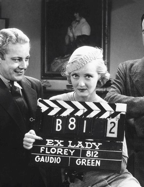 Gene Raymond & Bette Davis