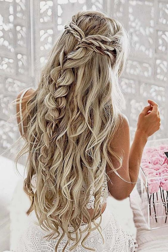 Good hairstyle.