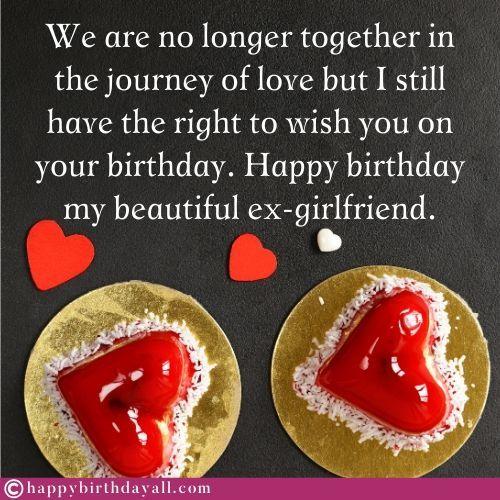 50 Happy Birthday Wishes For Ex Girlfriend Birthday Poems For Ex Gf Birthday Wishes For Girlfriend Birthday Wishes Nice Birthday Messages