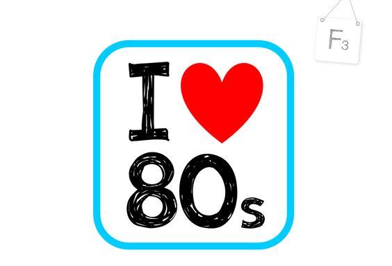 Children of the 80ies...