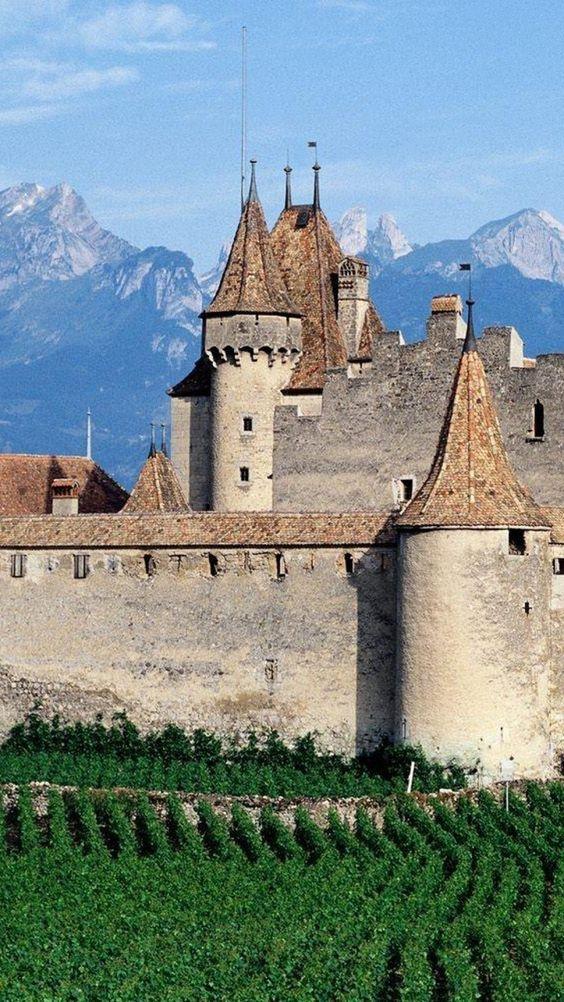 Aigle Castle, Vaud, Switzerland  Visit With #SwissPrestigeLimousine