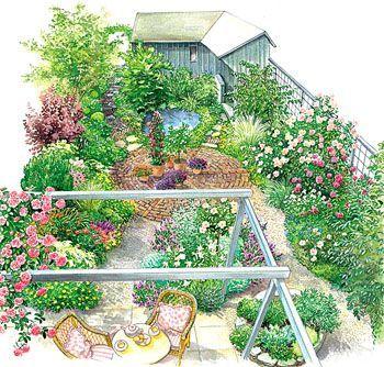 Kleiner Garten Im Neuen Gewand Mein Schoner Garten Garten Terrasse Mit Pergola Garten Anlegen