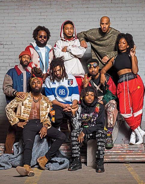 The Dreamville Crew Dreamville Revengeofthedreamers3 Rapper Art Rap Album Covers J Cole