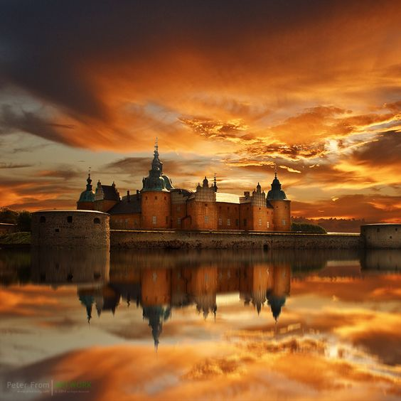 Times Gone By | The Kalmar Castle In The Evening Sun | Sweden | Photo By Peter From