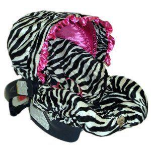 Zoe Zebra with Ruffle Canopy