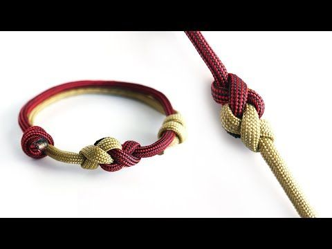 122 How To Make A Two Color Eternity Knot Paracord Bracelet