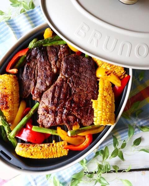 Bruno 3種のソースで 焼き肉巻き巻きパーティー レシピ レシピ