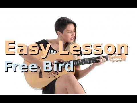 Free Bird Lynyrd Skynyrd Easy Beginners Guitar Lesson Youtube Basic Guitar Lessons Playing Guitar Guitar Lessons For Beginners