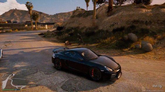 Road Rage in GTA V